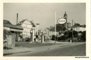Autohaus Gerstel in den frühen 1950ern