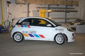 Opel ADAM Cup von Knapp Motorsport, Außenansicht