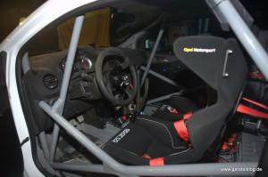 Opel ADAM Cup von Knapp Motorsport, Innenansicht