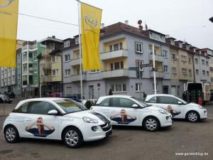 Opel ADAM der Schwarzwaldaugenklinik in Schramberg