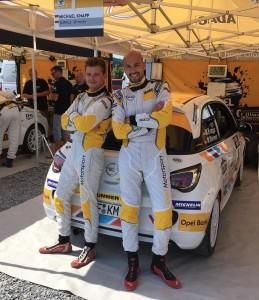 Michael Knapp, Markus Wimmer, Team Knapp im ADAC Opel Rallye Cup 2015