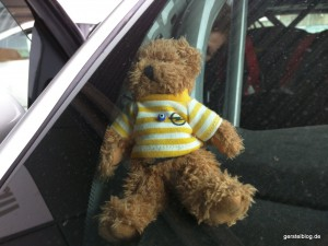 Opel-Teddybär im ADAM Cup
