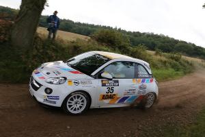 Michael Knapp in der ADAC Ostsee Rallye 2015
