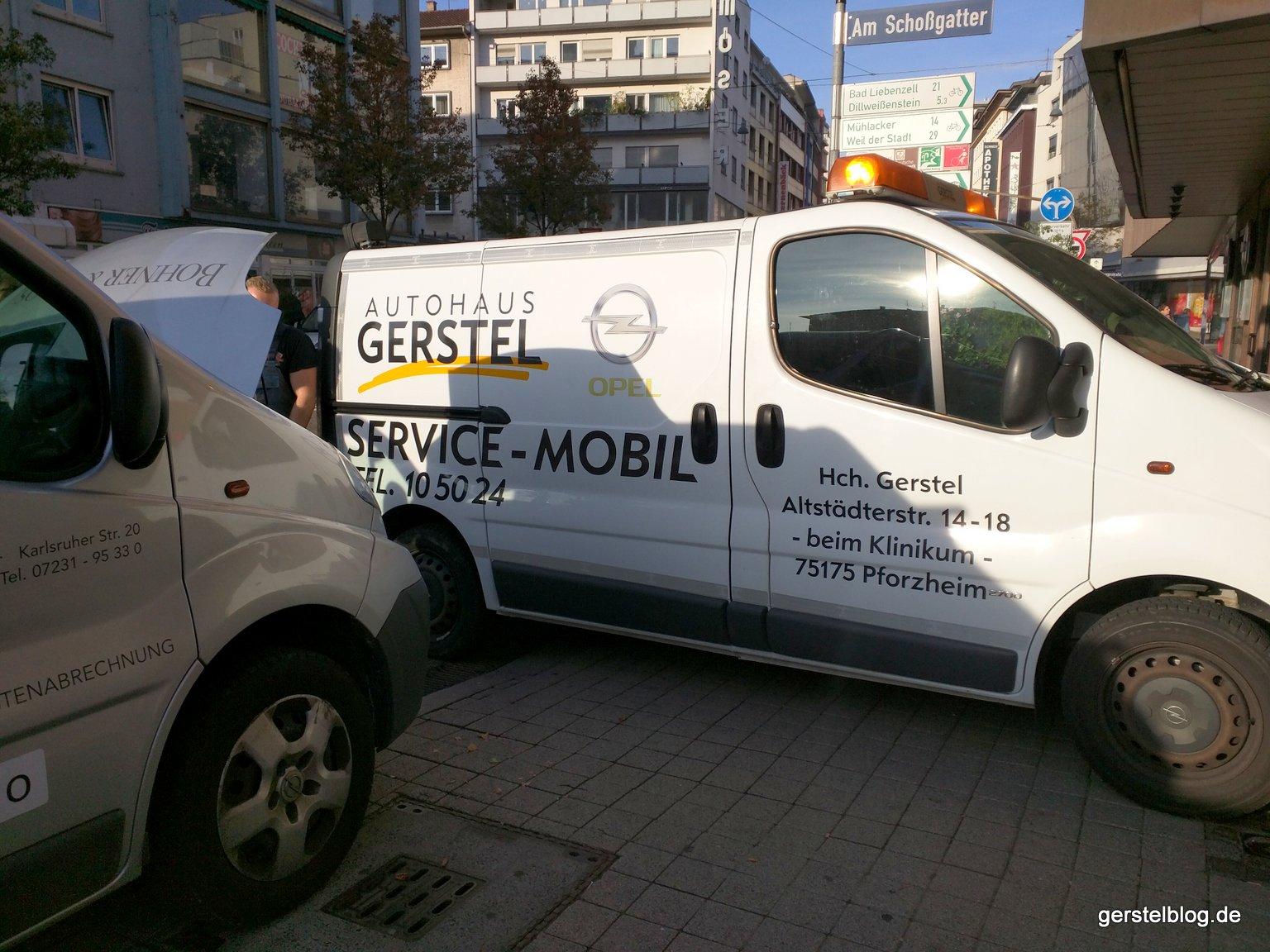Das Gerstel-Servicemobil