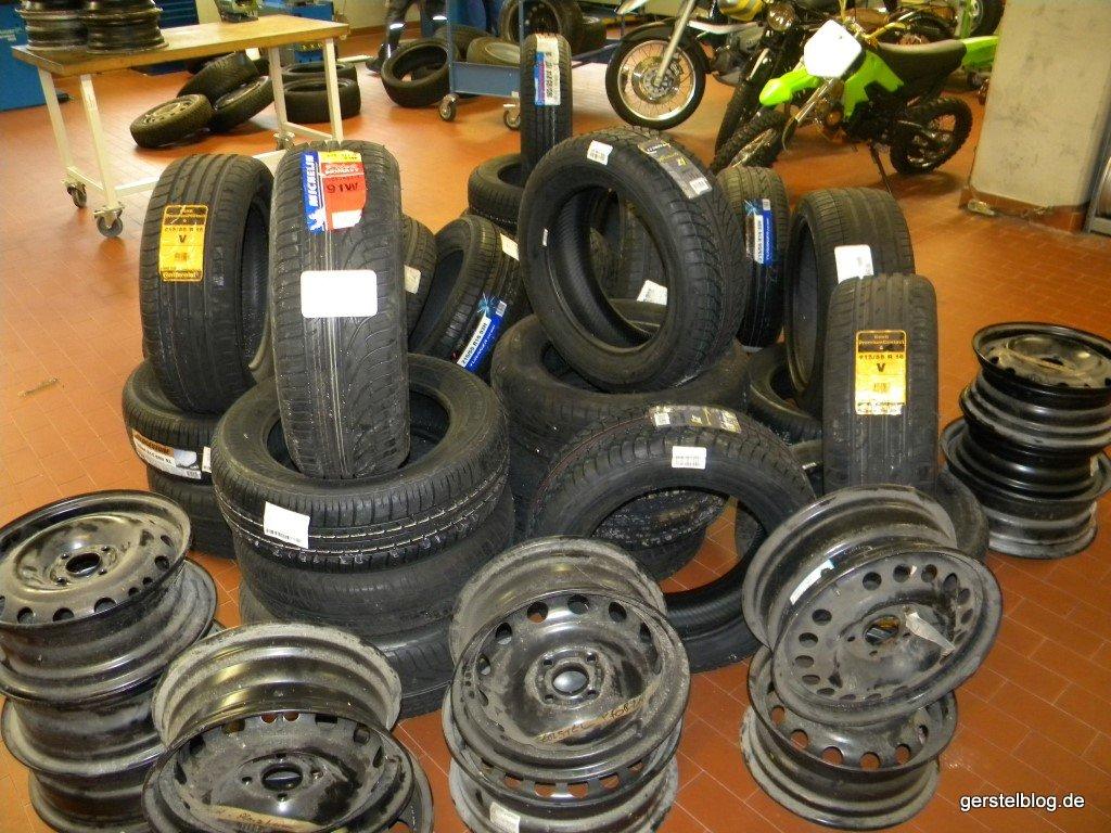 Rädermaterial für die Berufsschule