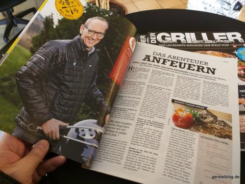 """Opel-Chef Karl-Thomas Neumann im """"Der Griller"""""""