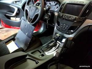 Innenausbau Opel Insignia als Feuerwehr-Kommandofahrzeug