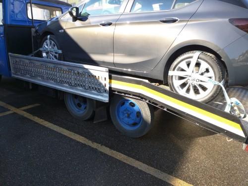 Restaurierung am Opel Blitz Abschleppwagen