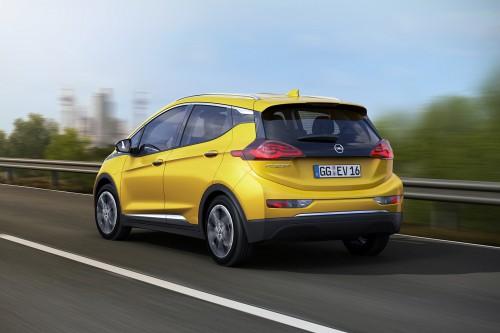 Opel Ampera-e Rückansicht