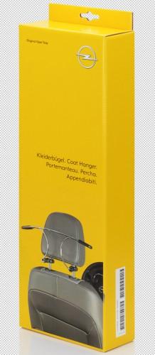 Kleiderbügel als Opel Original Zubehör