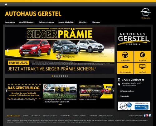Gerstel-Homepage 2016