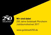 Goldstadt 250 - Wir sind dabei