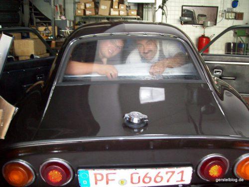 Auf Tuchfühlung mit Kollegen im Opel GT