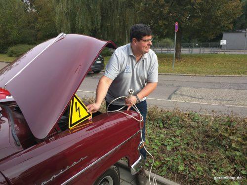"Timo mit dem ""Elektro""-Kapitän"