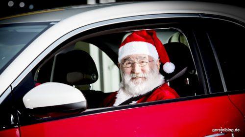 Der Weihnachtsmann fährt jetzt Opel ADAM!