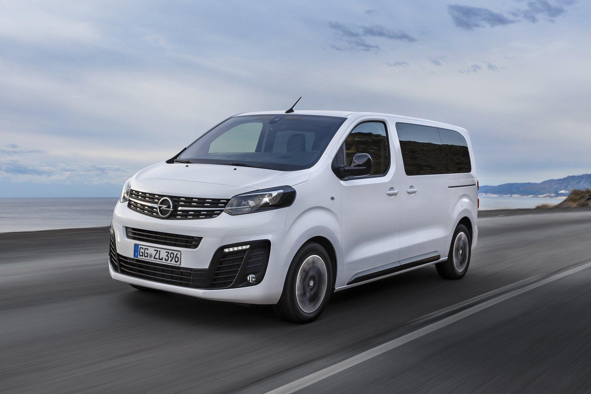 2020 Opel Vivaro Performance